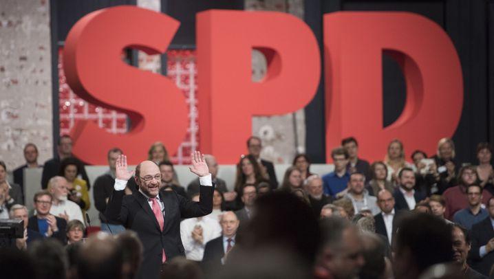 SPD-Parteitag: London, New York, Paris, Würselen