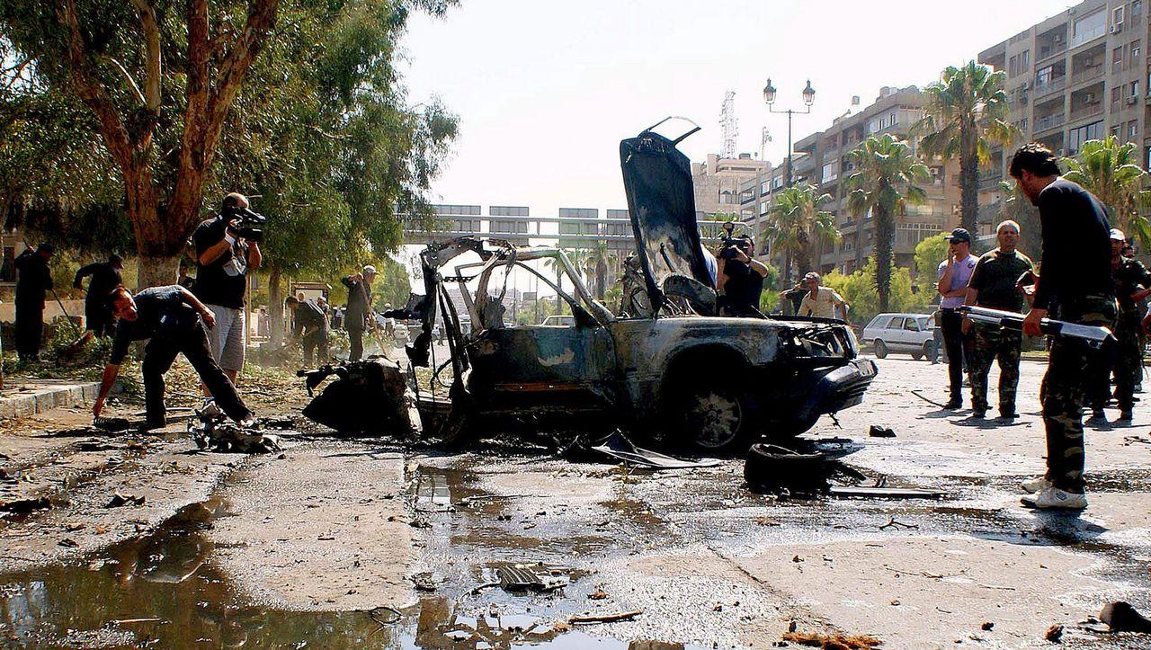 Syrische Armee Offensive