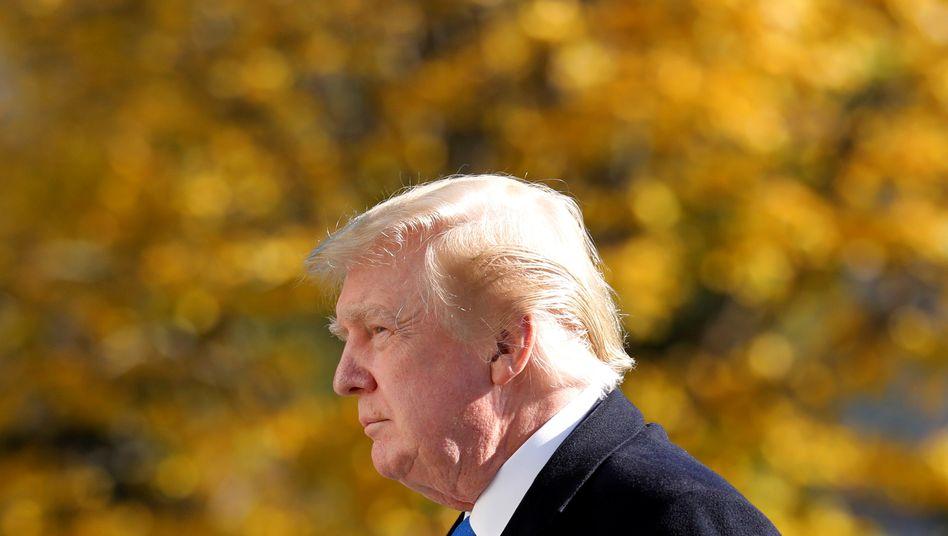 Wird Trump bei der Amtsübergabe vor Ort sein?