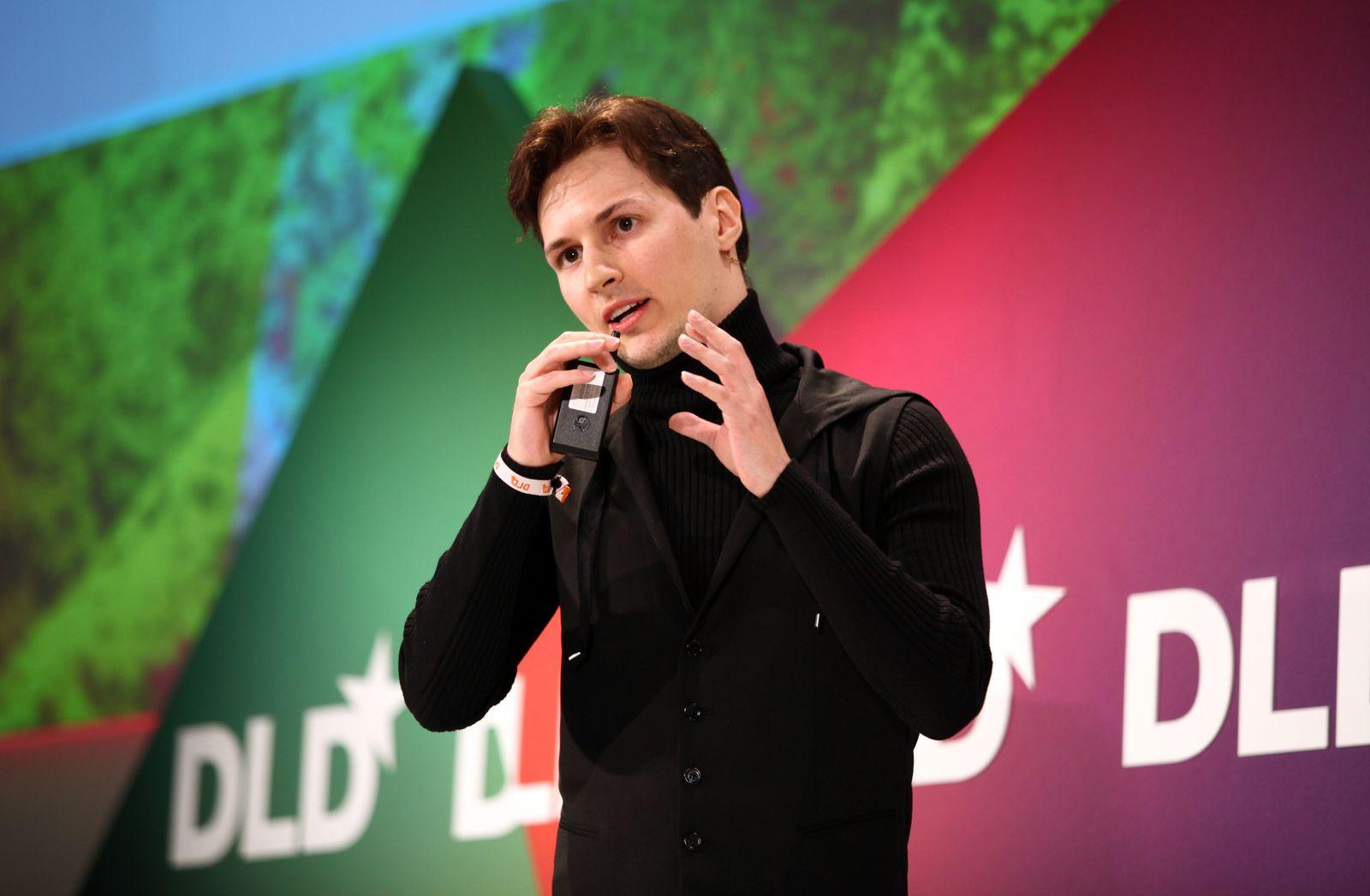DLD Conference 2012 - Day 3 / Pavel Durow / VKontakte