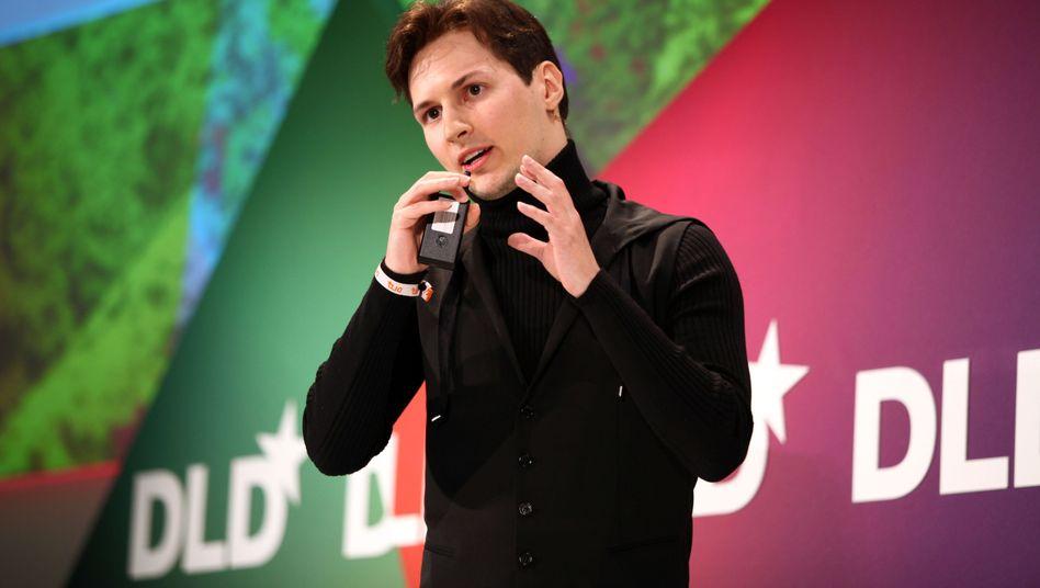 "VKontakte CEO Pavel Durov: ""We're still up."""