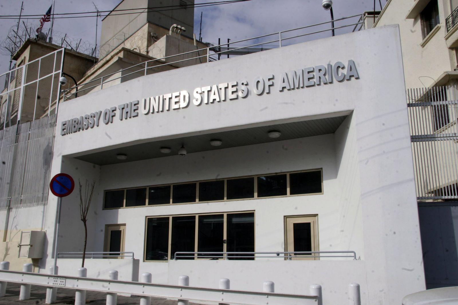 US shuts embassy in Syria Damaskus Botschaft schließen