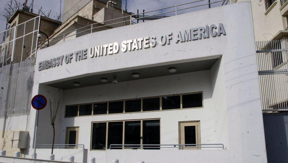 US-Botschaft in Damaskus (Archivbild): Die Türen bleiben zu
