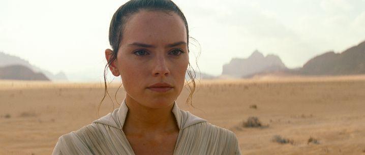 """Daisy Ridley in """"Der Aufstieg Skywalkers"""""""