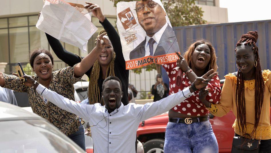 Anhänger von Macky Sall