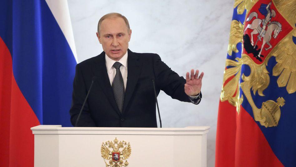Putin auf Konfrontationskurs: Väterchen Frost