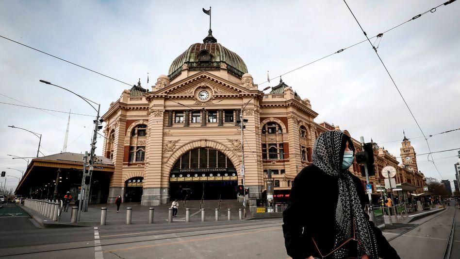 Lockdown in Melbourne: Sechs Wochen auf Stufe vier