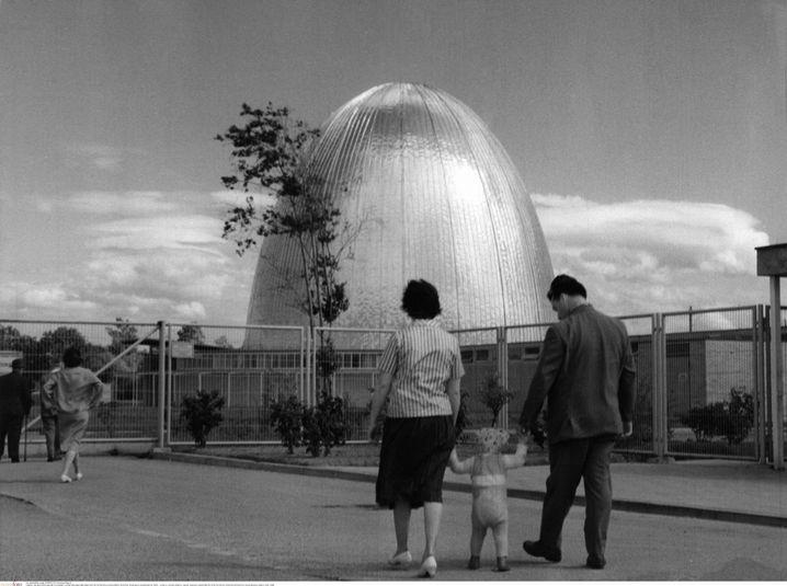 Forschungsreaktor in Garching um 1960: Begeisterung für Kernenergie