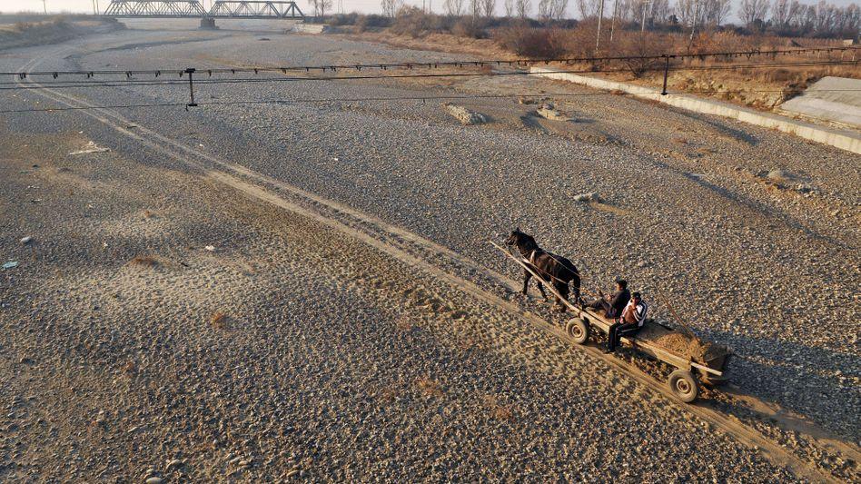 Trockenes Flussbett: Rumänien kämpft gegen den Klimawandel an (Archiv)