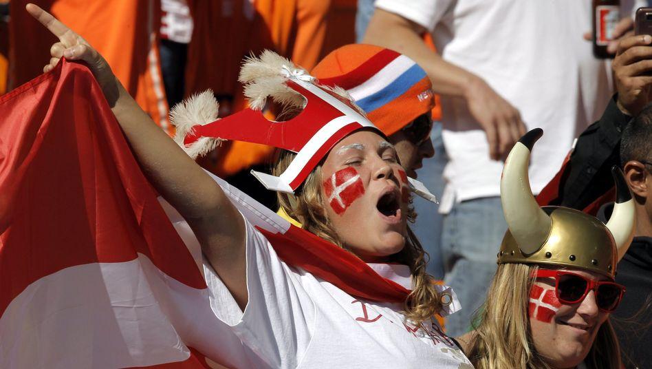 Dänische Fußballfans: Eigentlich geht es uns ziemlich gut