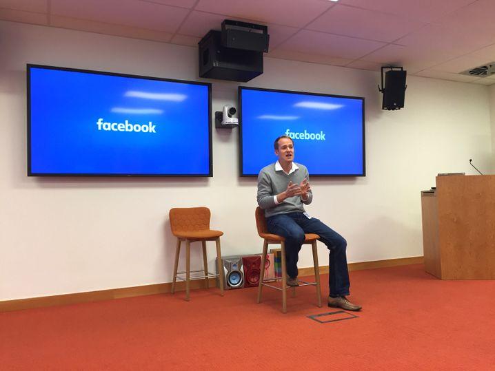 """Facebook-Chef Lambe: """"Ihr werdet die Gespräche sehr aufschlussreich finden"""""""