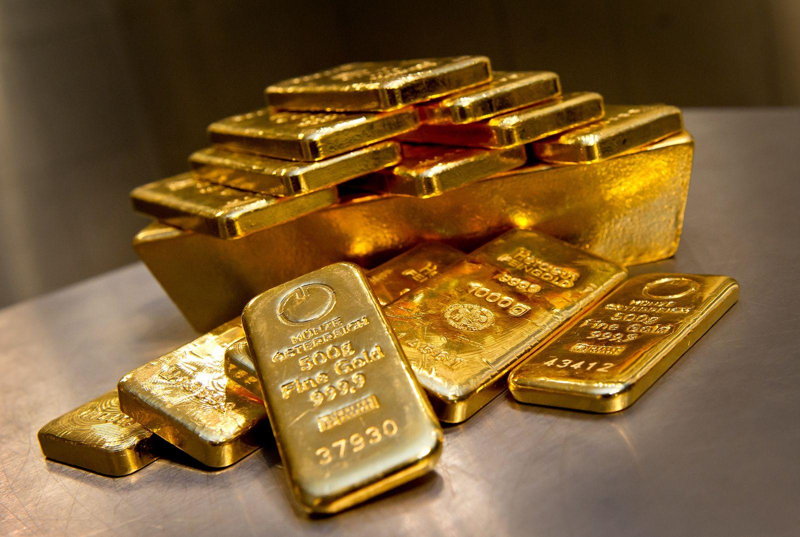Gold-Barren / Goldpreis / Goldbarren