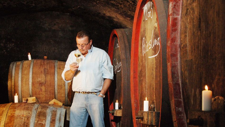 Wilhelm Sitzius: Der Winzer präsentiert seine Weine auf der IAA