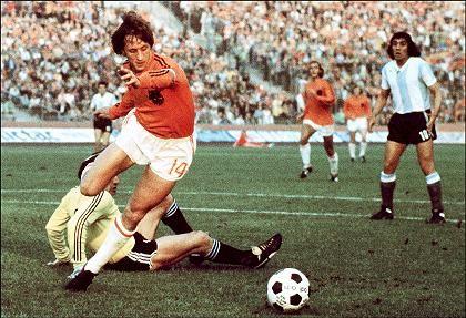 Niederländer Cruyff (1974): Großartiger Spieler, desaströses Finale