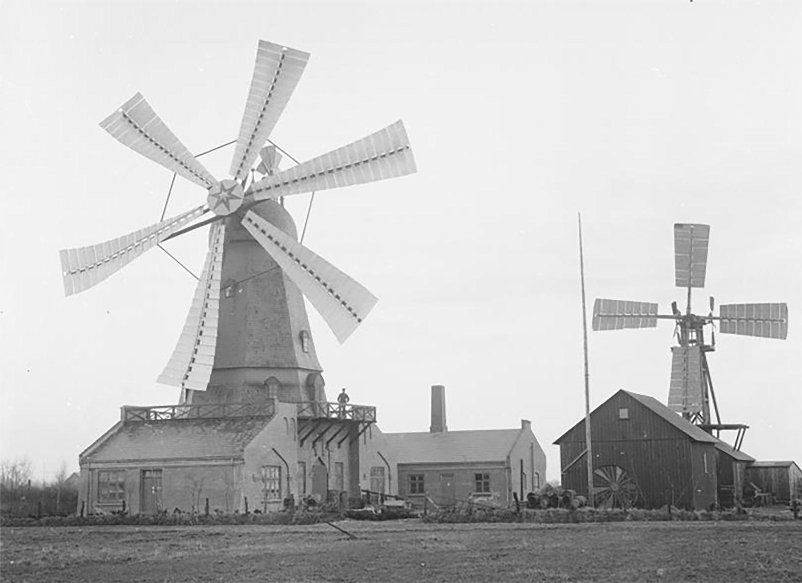 Windkraft Pioniere - Poul la Cours wind laboratory