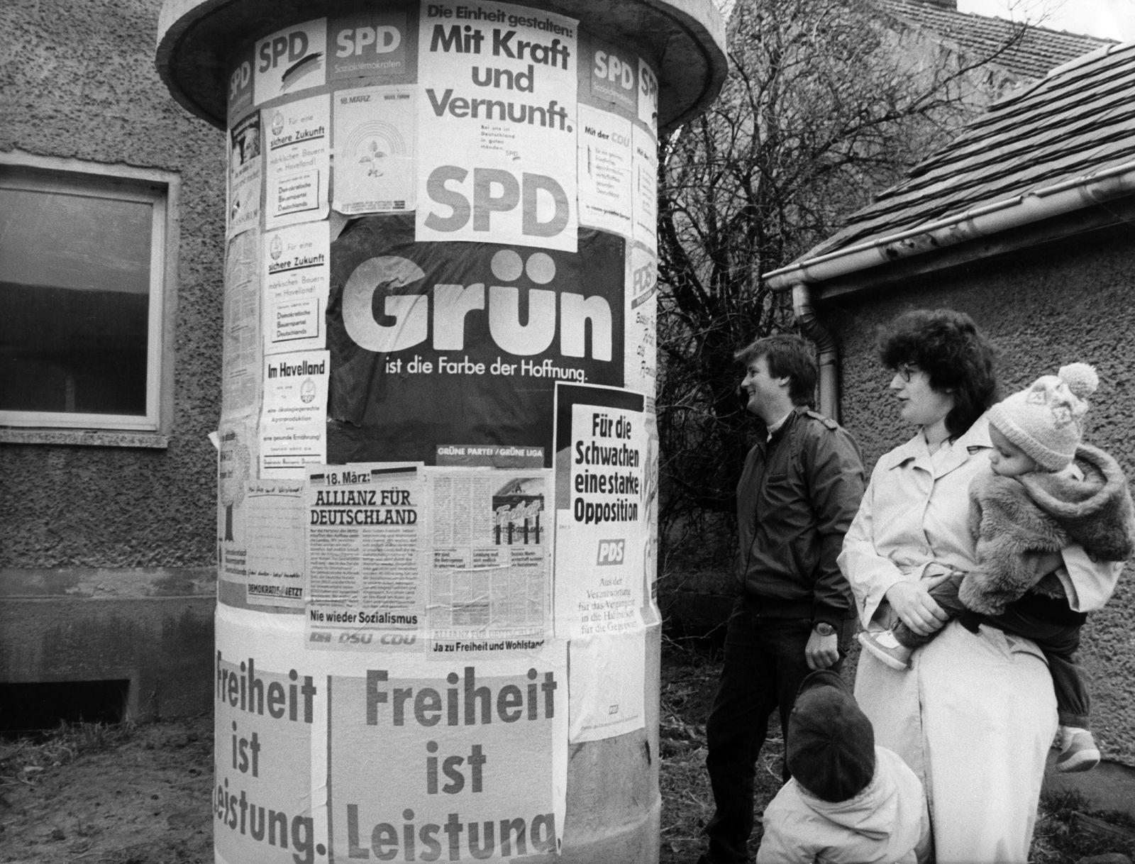 Volkskammerwahl 1990 - Wahl zur Volkskammer