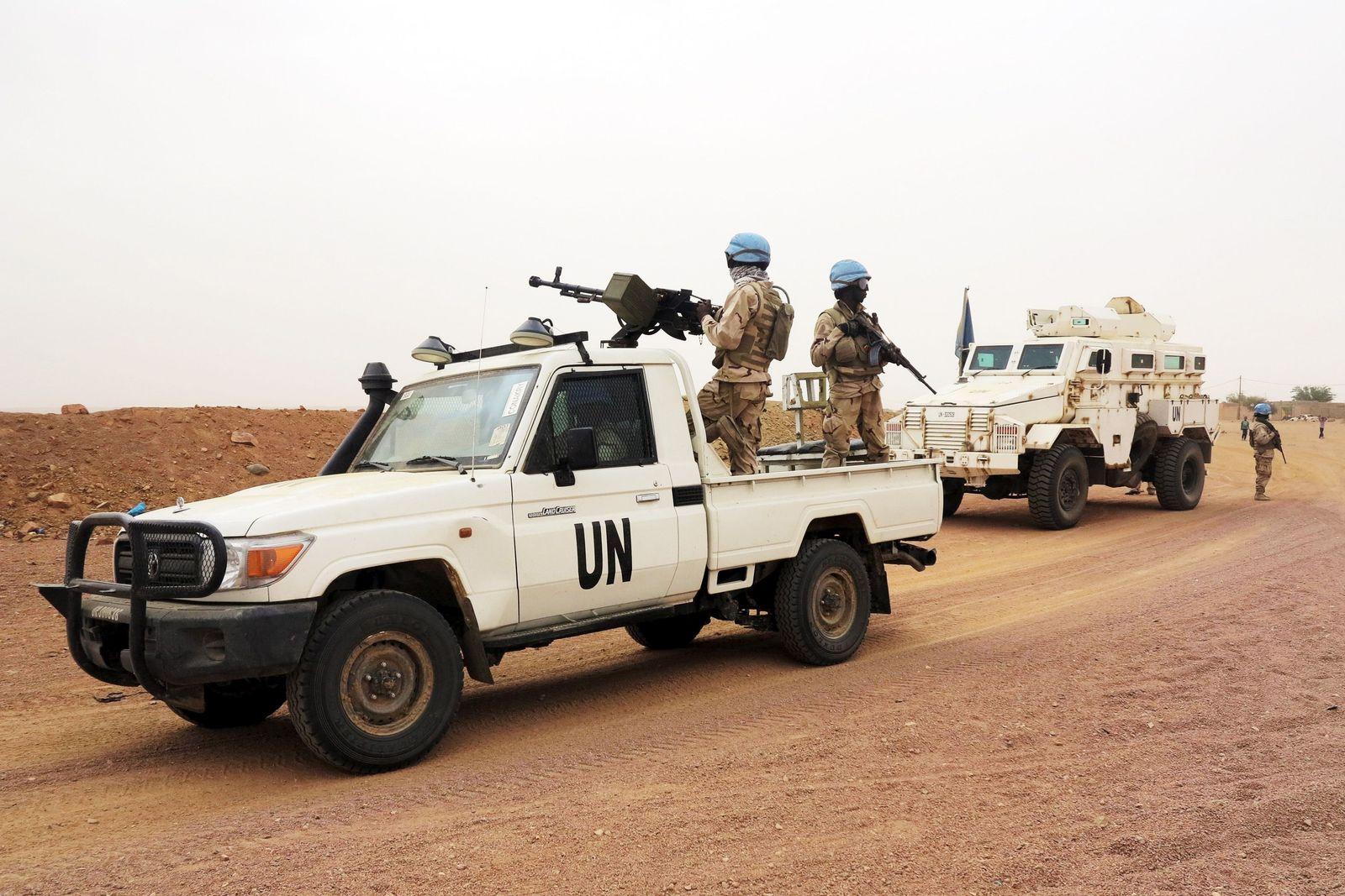 Mali/ Blauhelmsoldaten