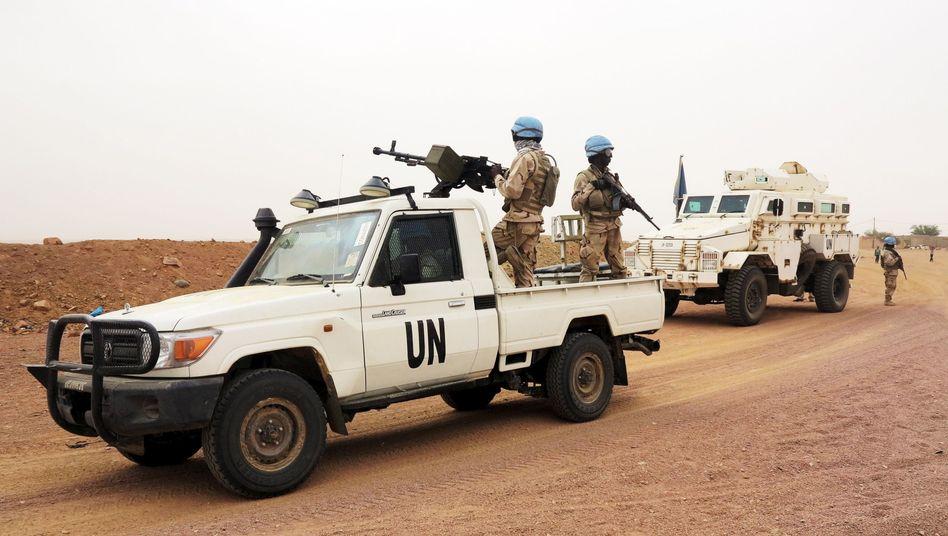 """Uno-Blauhelme in Mali: """"Es ist ein anhaltend unsicheres Gebiet"""""""