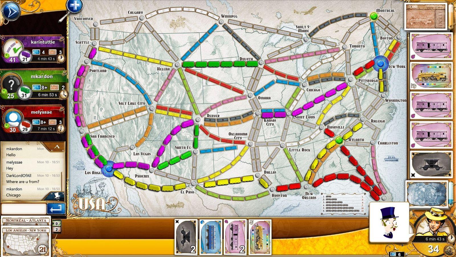 Ticket to Ride: Asmodee Digital
