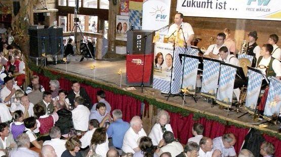 Freie-Wähler-Chef Aiwanger: Attacke auf die Spezlwirtschaft der Christsozialen