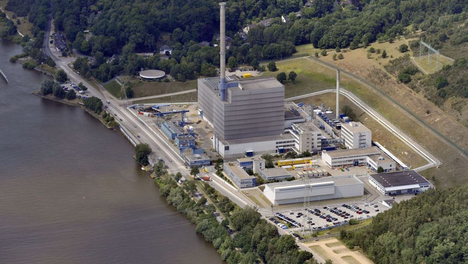 The Krümmel nuclear plant near Hamburg, one of two German reactors operated by Vattenfall.