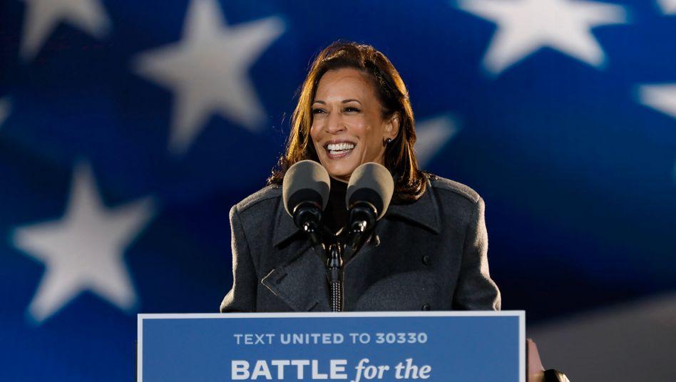 Künftige Vizepräsidentin Kamala Harris