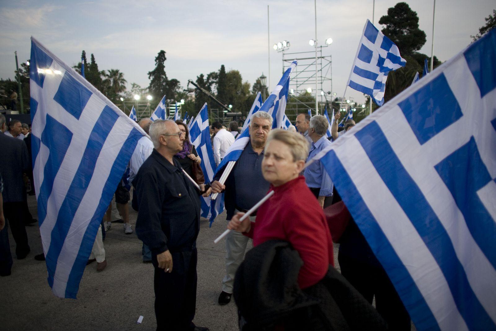 Griechenland / Flaggen