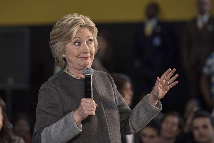 Demokratin Hillary Clinton
