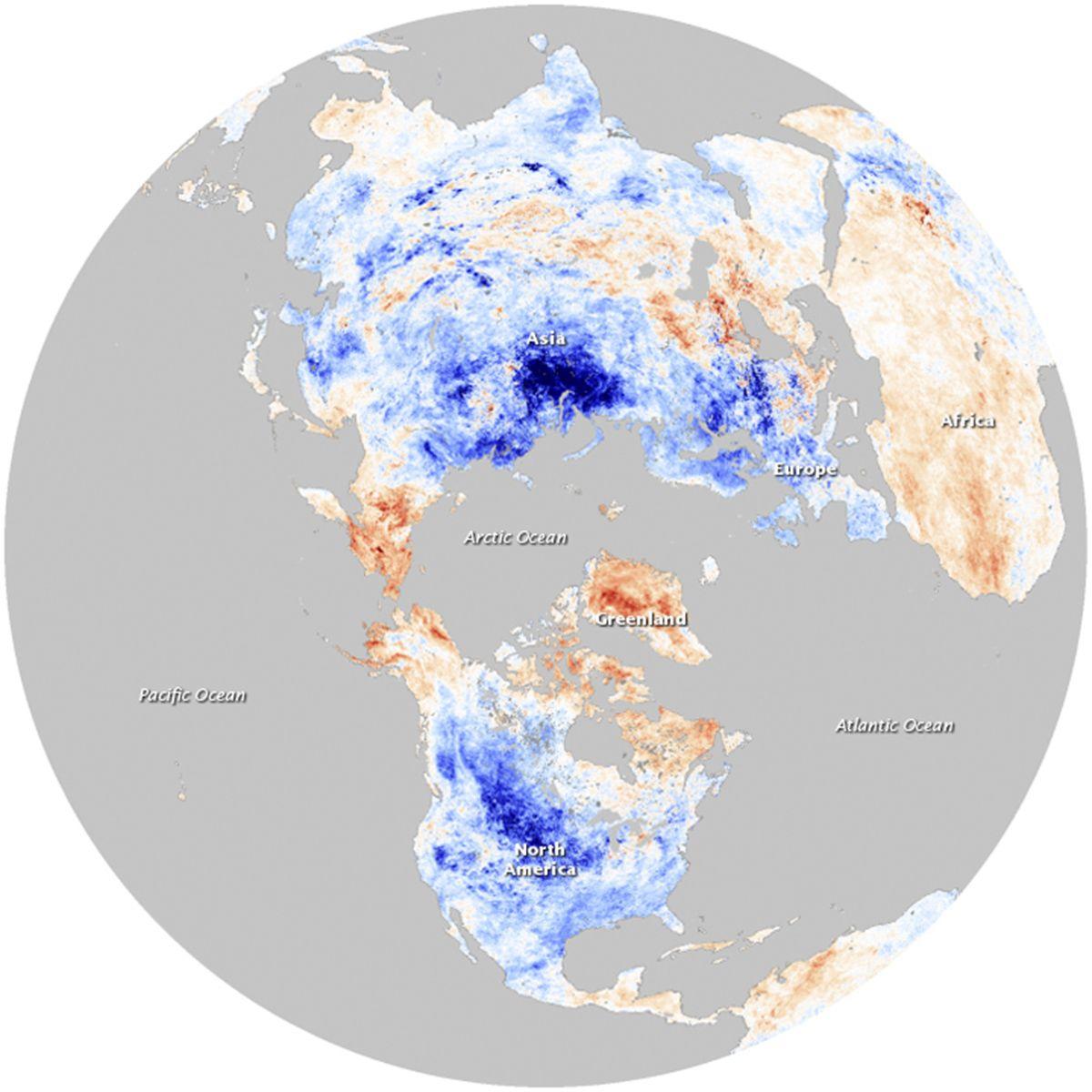 Temperaturen/Klimawandel