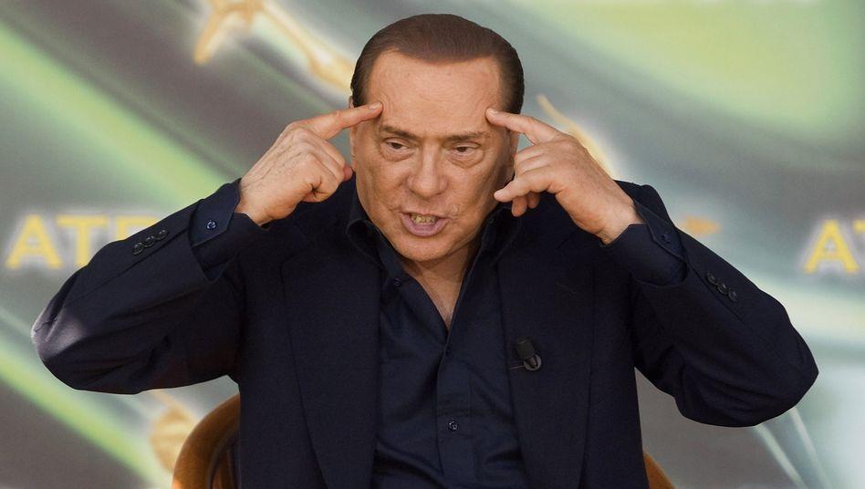 Italiens Noch-Ministerpräsident Silvio Berlusconi: Der unheimliche Milliardär