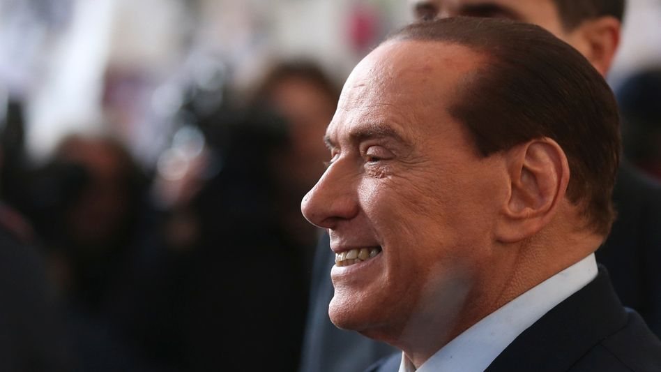 "Former Italian Prime Minister Silvio Berlusconi: ""He's saved himself yet again!"""