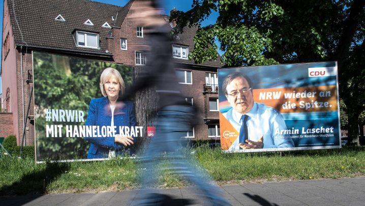 Wahl in Nordrhein-Westfalen: Die Spitzenkandidaten der Parteien