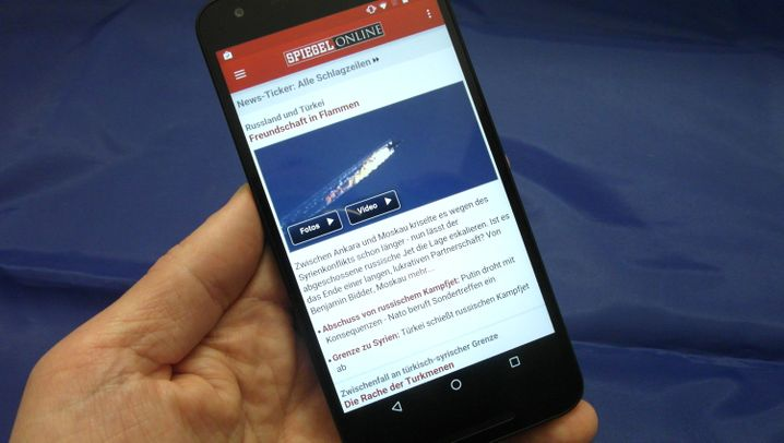 Mit Googles Update-Versprechen: Nexus 5X