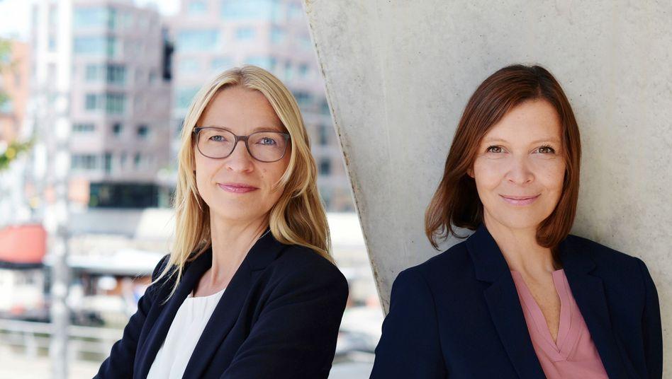 """""""food for brands"""" Inhaberinnen Catrin Bellmann und Ilaria Rinaldi"""