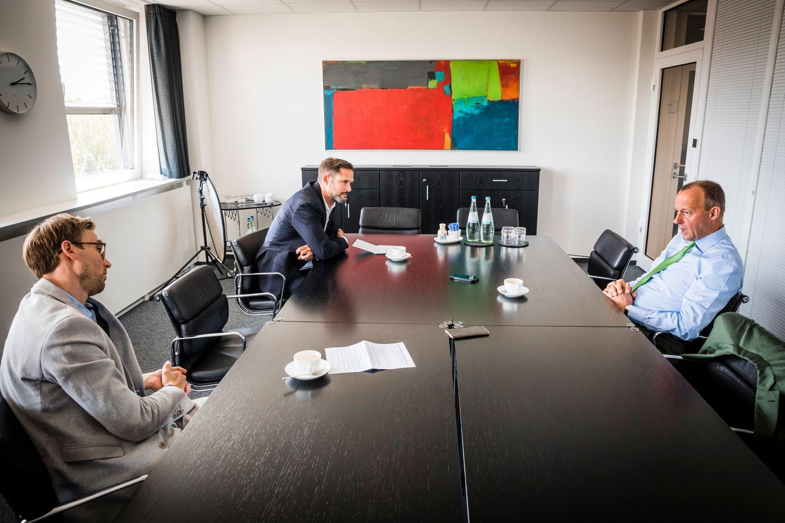 Arnsberg / 23.06.2020 - Interview / Portrait Friedrich Merz (CDU).