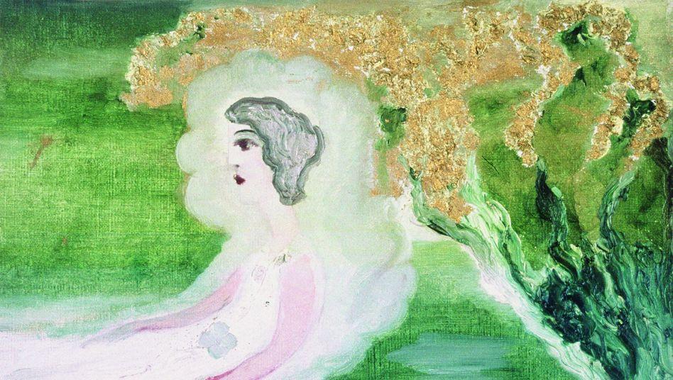 """Gemälde von Else Blankenhorn (1873-1920): """"Innere Spannung ablassen"""""""