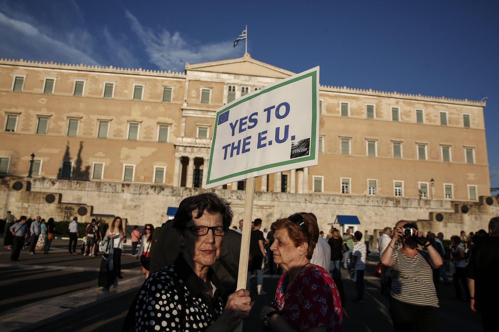 Greece Bailout Griechenland
