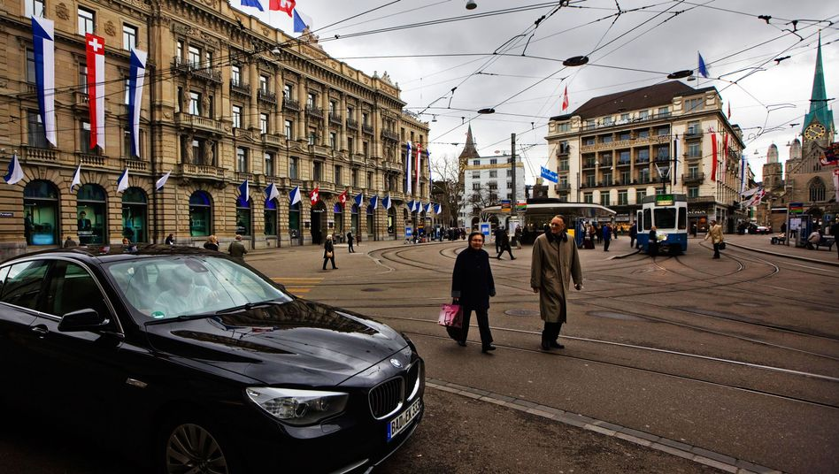 Bankenviertel in Zürich: Auswandern verliert für Deutsche an Reiz