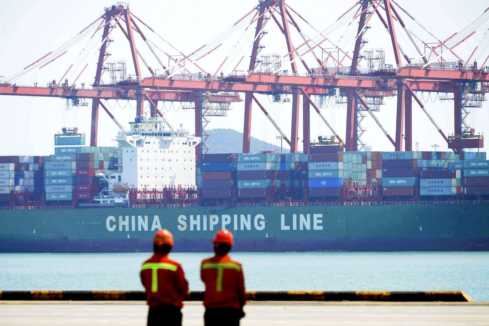 Hafen China Qingdao