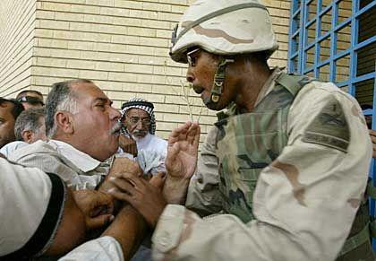 Frust auf beiden Seiten: Dialog auf irakisch
