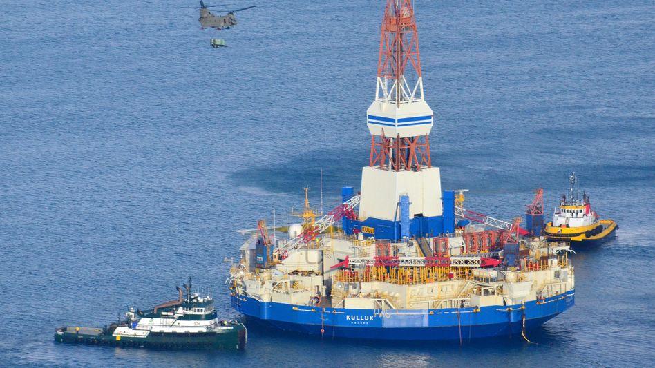 Shell-Ölbohrplattform Kulluk: Förderstopp aus Kostengründen
