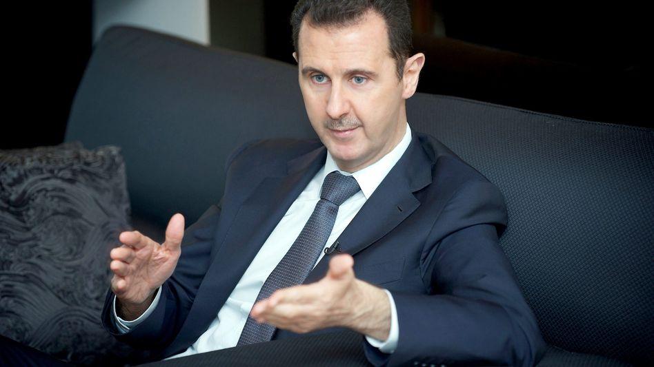 "Syriens Präsident Assad: ""Alles Lügen!"""