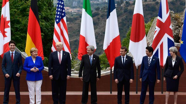 G7-Gipfel auf Sizilien: Der Problempartner