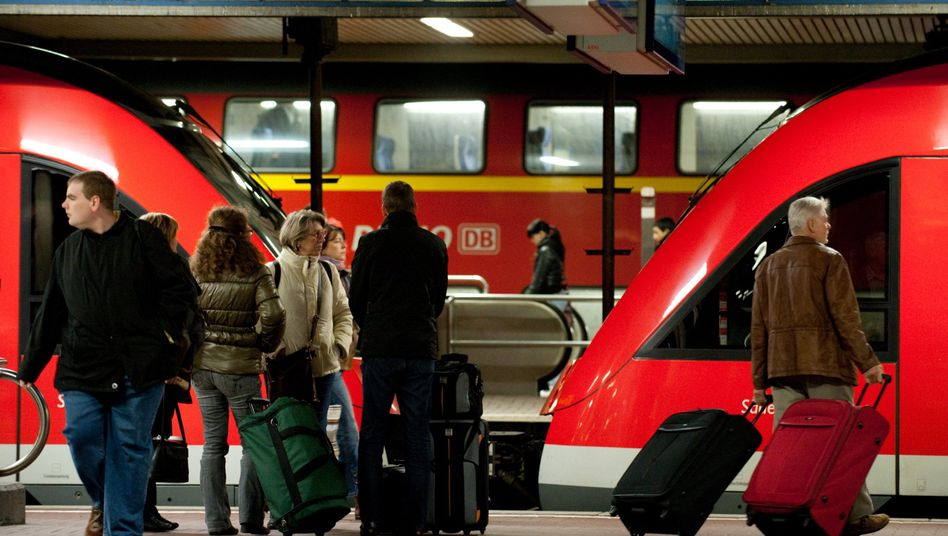 Bahnreisende in Dortmund: Bundesweite Warnstreiks angekündigt