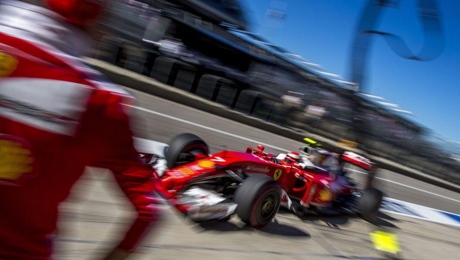 Ferrari-Pilot Räikkönen