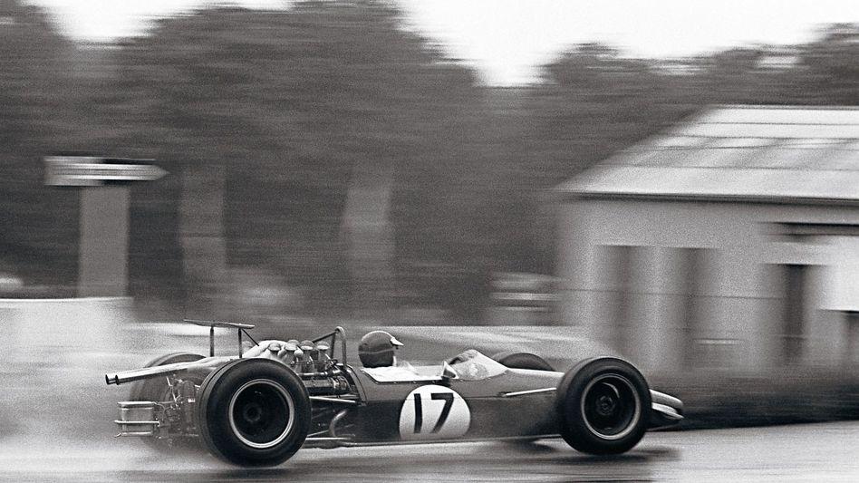 Formel-1-Fahrer Ahrens 1968