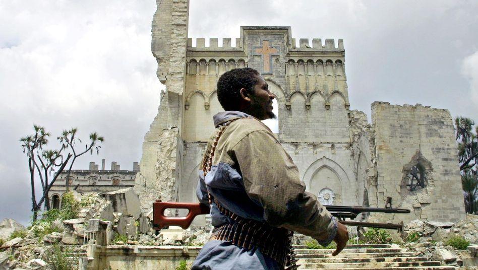 Bürgerkriegsfolgen in Somalia (November 2001): Mehr Kriege bei höheren Temperaturen?