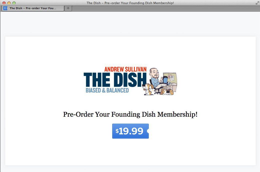 NUR ALS ZITAT Screenshot The Dish