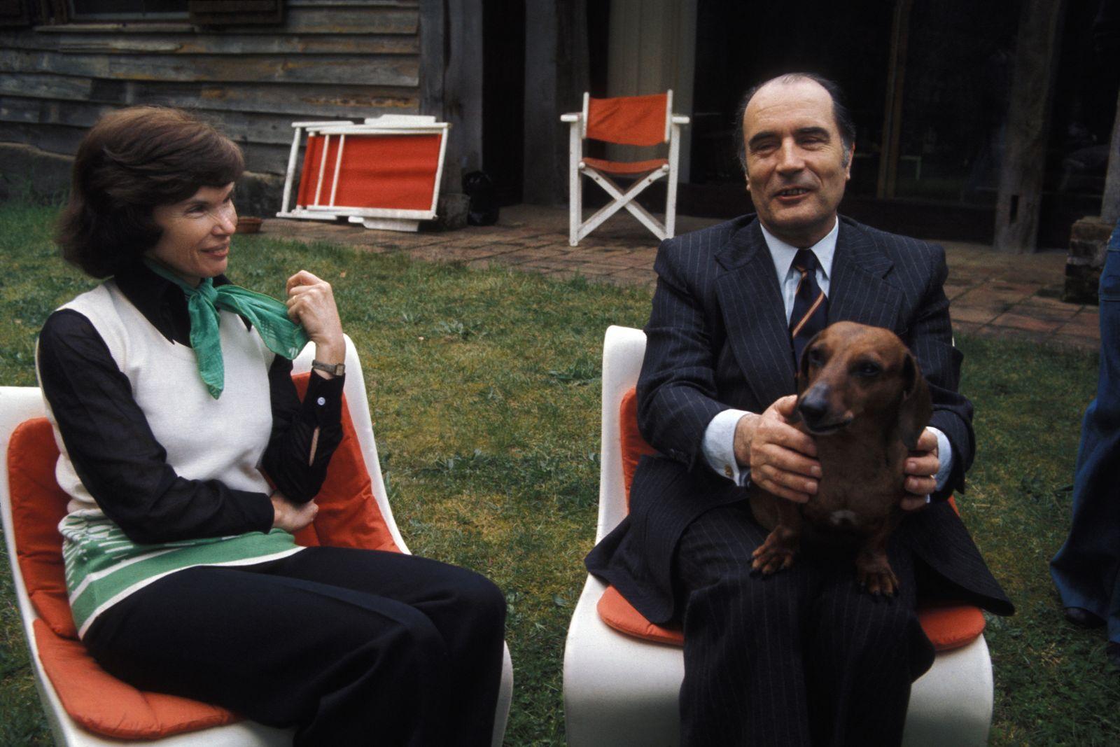 Henkersmahlzeit - François Mitterrand et son épouse Danielle à Latche
