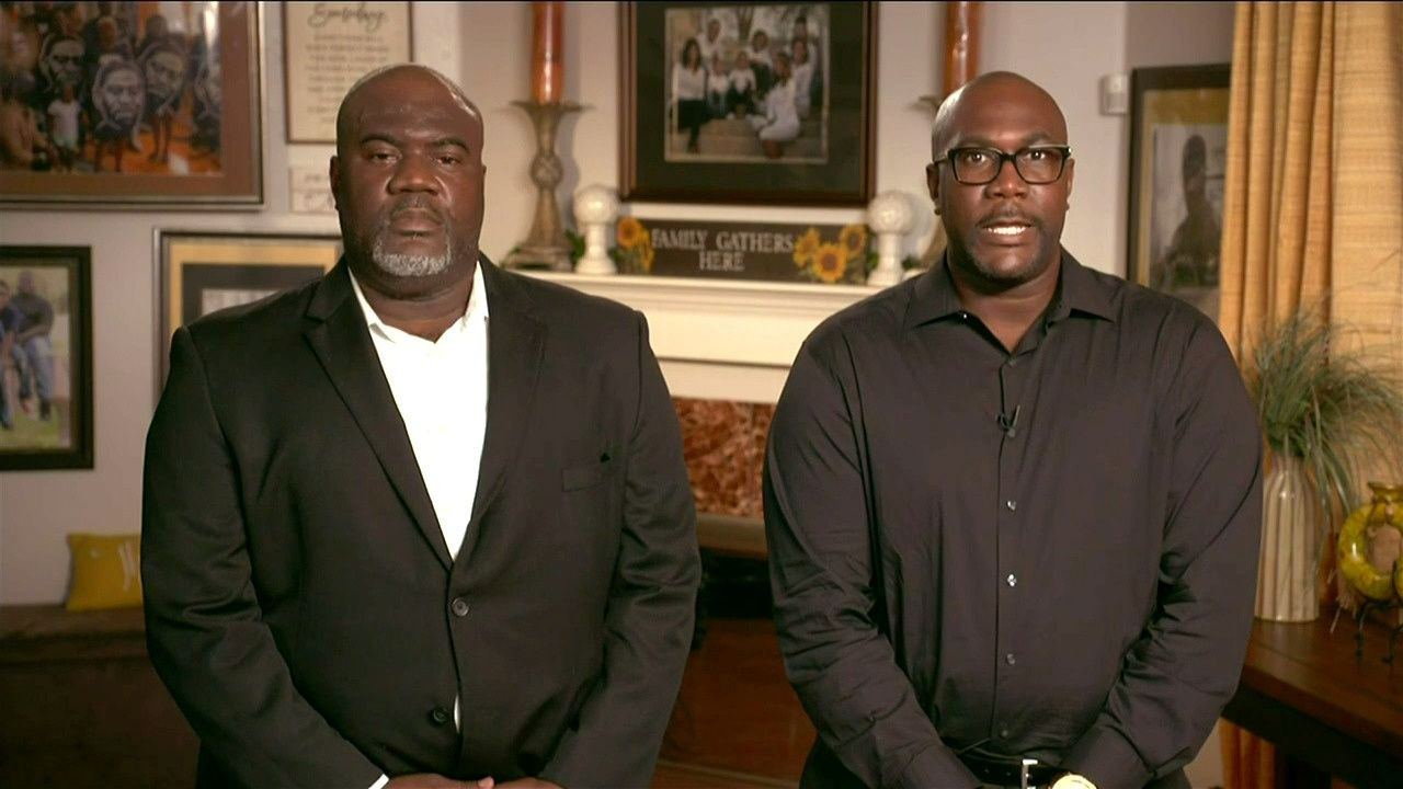 George Floyd's brothers lead moment of silence in his honor at start of the all virtual 2020 Democratic Convention hosted from Milwaukee, Wisconsin